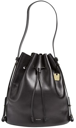 Skagen 'Large Amberline' Bucket Bag $395 thestylecure.com