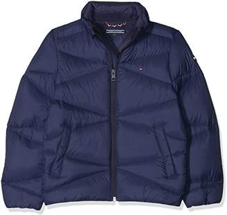 Tommy Hilfiger Boy's Packable Light Down Jacket,(Size: 7)
