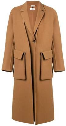 Jil Sander double layer coat
