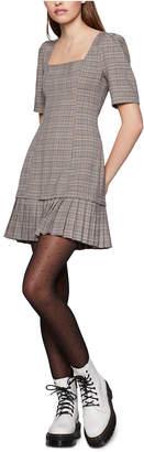 BCBGeneration Plaid Mini Dress