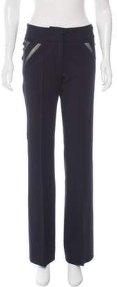 Yigal Azrouel Mid-Rise Wide-Leg Pants