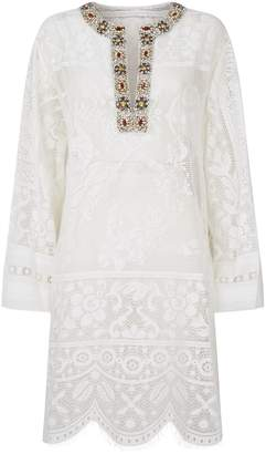 Dolce & Gabbana Embellished Lace Kaftan
