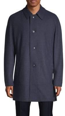 Bugatti Classic Raglan-Sleeve Coat