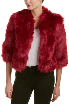 Lucy Paris Fuzzy Jacket