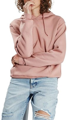 Women's Topshop Oversize Hoodie $45 thestylecure.com