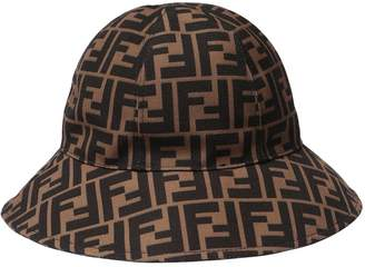 Fendi Logo Jacquard Bucket Hat