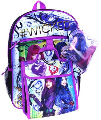Disney's Descendants Evie & Mal 5-pc. Backpack Set $34.99 thestylecure.com