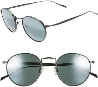Maui Jim Nautilus 50mm PolarizedPlus2(R) Round Sunglasses