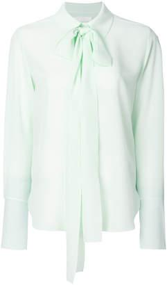Chloé neck tie long-sleeved shirt