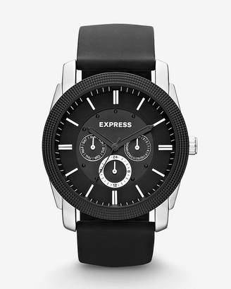 Express Rivington Multi-Function Watch - Black