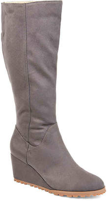 Journee Collection Parker Wedge Boot - Women's