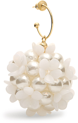SIMONE ROCHA Clustered-flower and faux-pearl earring $208 thestylecure.com