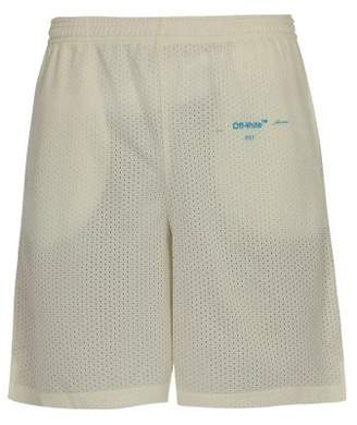 Off-white - Gradient Mesh Shorts - Mens - White