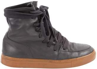 Kris Van Assche Black Leather Lace ups