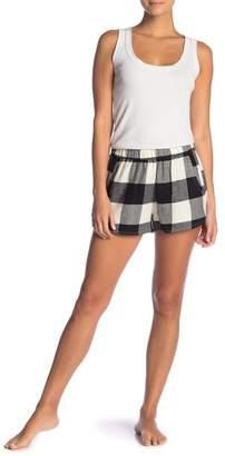 Free Press Flannel Pajama Shorts