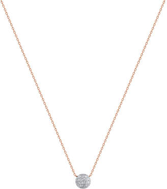 Rosegold The Alkemistry Lauren Joy mini 14ct rose-gold and diamond necklace