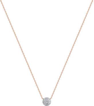 Rosegold The Alkemistry Lauren Joy mini 14ct rose-gold and diamond necklace