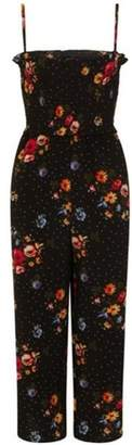 Dorothy Perkins Womens *Girls on Film Multi Coloured Print Jumpsuit