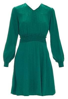 796ca87785d Sandro Women s Claudia Swiss Dot Fit- -Flare Dress