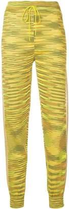 M Missoni yellow patterned sweatpants