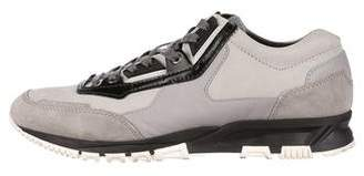 Lanvin Suede & Nubuck Sneakers