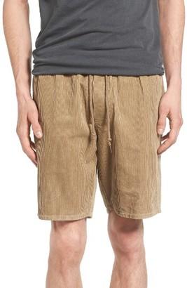 Men's Obey Legacy Corduroy Shorts $62 thestylecure.com