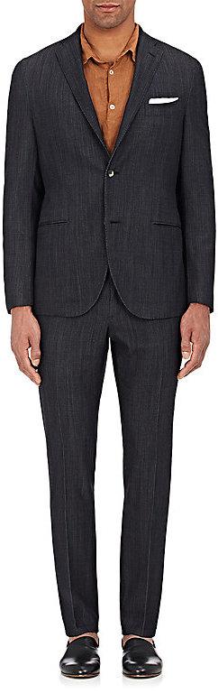 BoglioliBoglioli Men's Wool-Blend Two-Button Suit