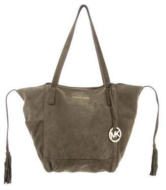 Pre Owned At Therealreal Michael Kors Suede Shoulder Bag