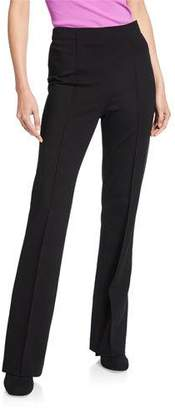 Escada Talisana High-Waist Straight-Leg Pants