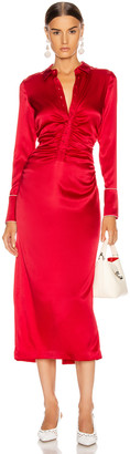 Alexis Candace Dress in Red | FWRD