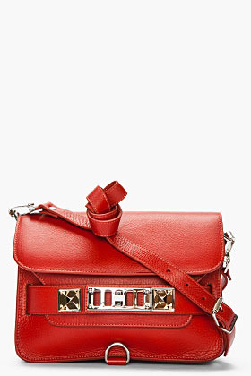 Proenza Schouler paprika leather PS11 Mini Classic