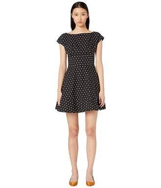 Kate Spade Dot Cotton Fiorella Dress