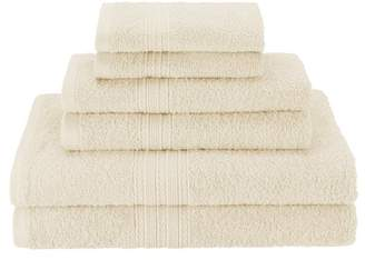Co The Twillery Patric 6 Piece 100% Cotton Towel Set