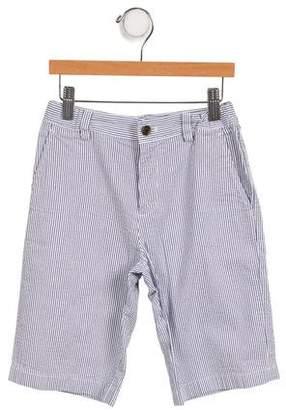 Brooks Brothers Boys' Striped Knee-Length Shorts