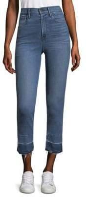 3x1 Abigail Crop Split Hem Jeans