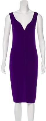 DSQUARED2 Sleeveless V-Neck Dress