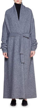 The Row Giolo Long Cashmere-Blend Cardigan