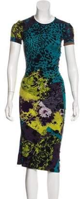 Versace Midi Knit Dress