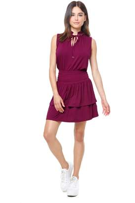 Juicy Couture Crepe Jersey Flirty Dress