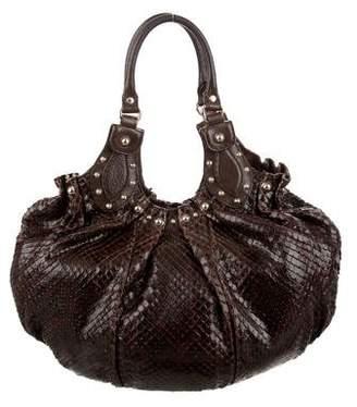 Gucci Python Large Pelham Bag