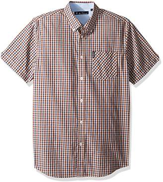 Ben Sherman Men's Mini Check Shirt