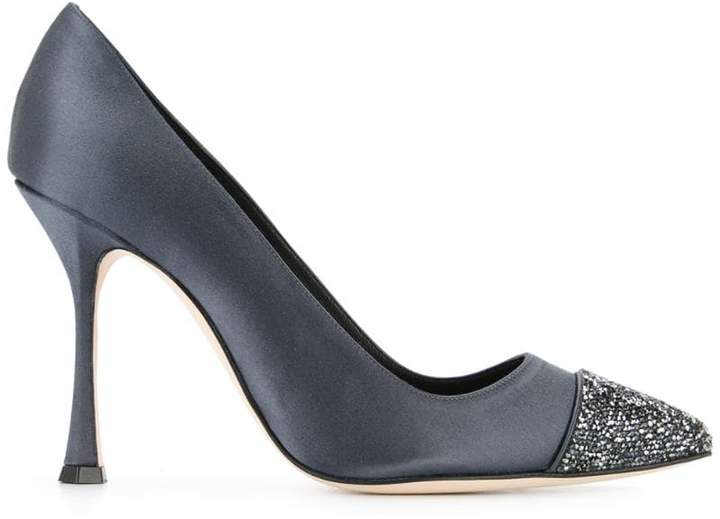 Manolo Blahnik Crystalbi 105 pumps