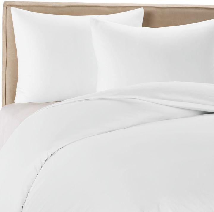 Wamsutta Mills 400 Duvet Cover Set in White