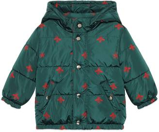 Baby bees stars padded jacket $730 thestylecure.com