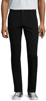Arizona Mens Skinny Fit Flat Front Pant