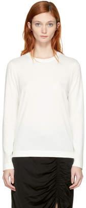 Raquel Allegra Ivory Long Sleeve T-Shirt