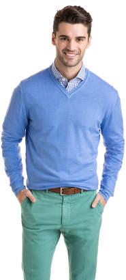 Vineyard Vines The Greenwich Garment Dyed Merino V-Neck Sweater