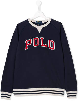 Ralph Lauren Teen logo-appliqué sweatshirt