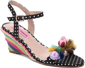 Betsey Johnson Koko Espadrille Wedge Sandal - Women's
