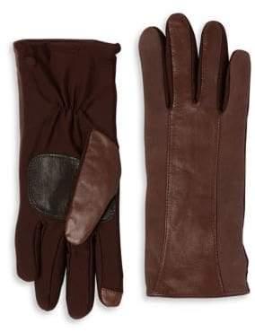 Echo Leather Strip Gloves